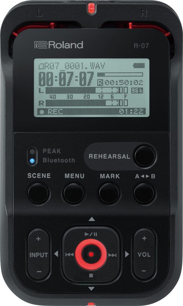 Roland R-07 Audio Recorder