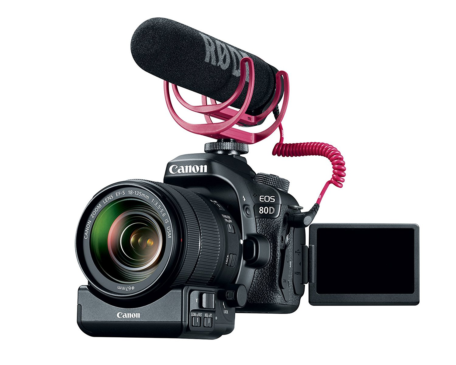 Canon EOS 80D Video Creator Kit