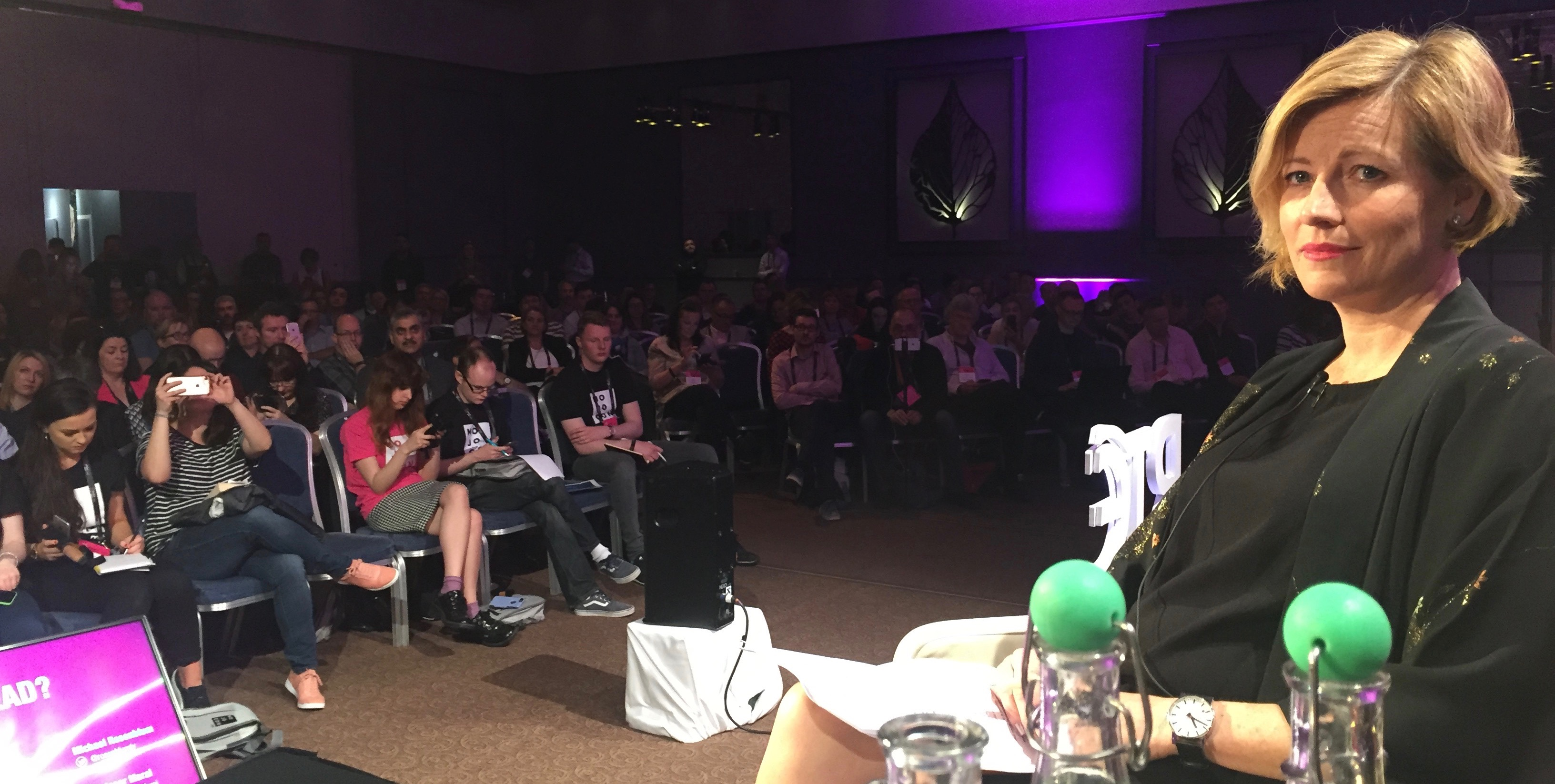 view from the panel