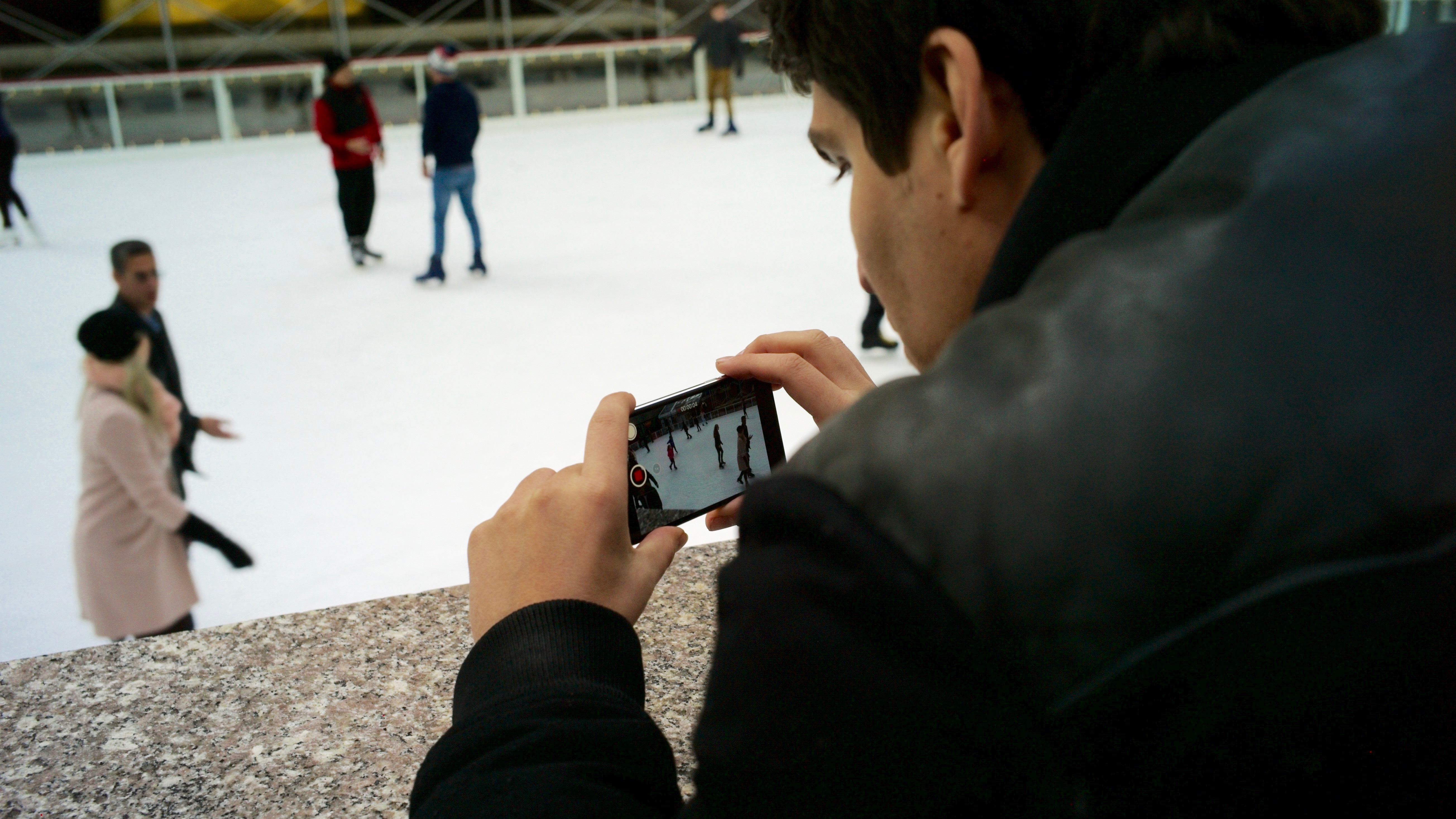 Filming Video on an iPhone