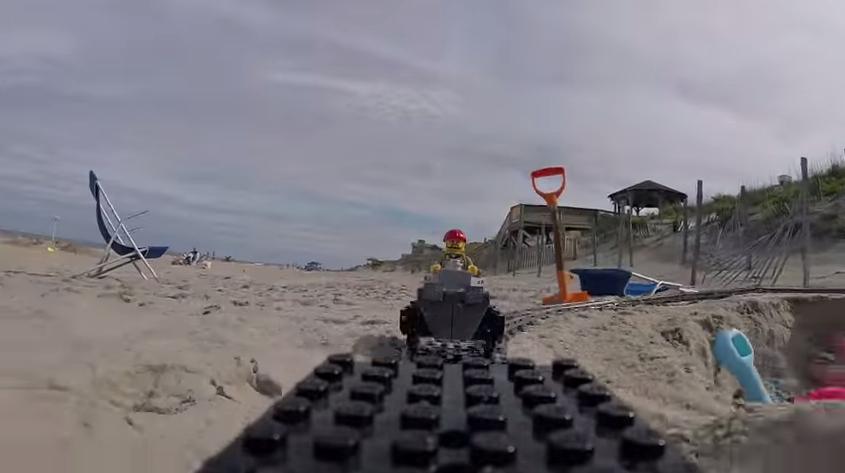 Lego Coaster