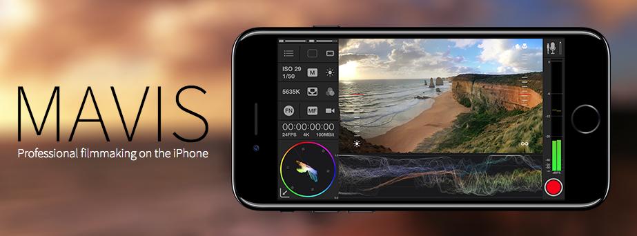 MAVIS Camera App for iPhone