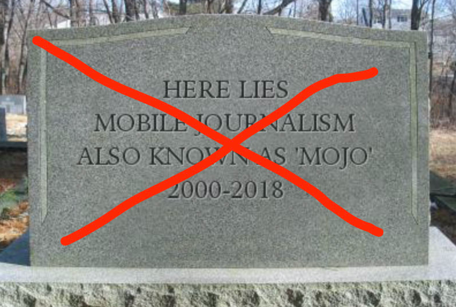 Mojo, Mojocon, BBC, Gutenberg, Free Press, Video, iPhone, Smartphone