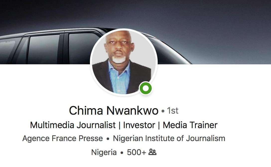 Nigeria, TV, LinkedIn, RealityTV