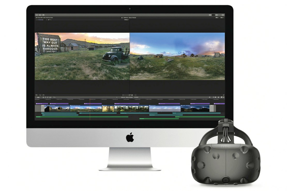 Apple Final Cut Pro X VR
