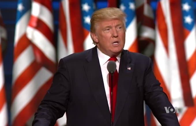 Trump, TV, VOA, VOA-TV