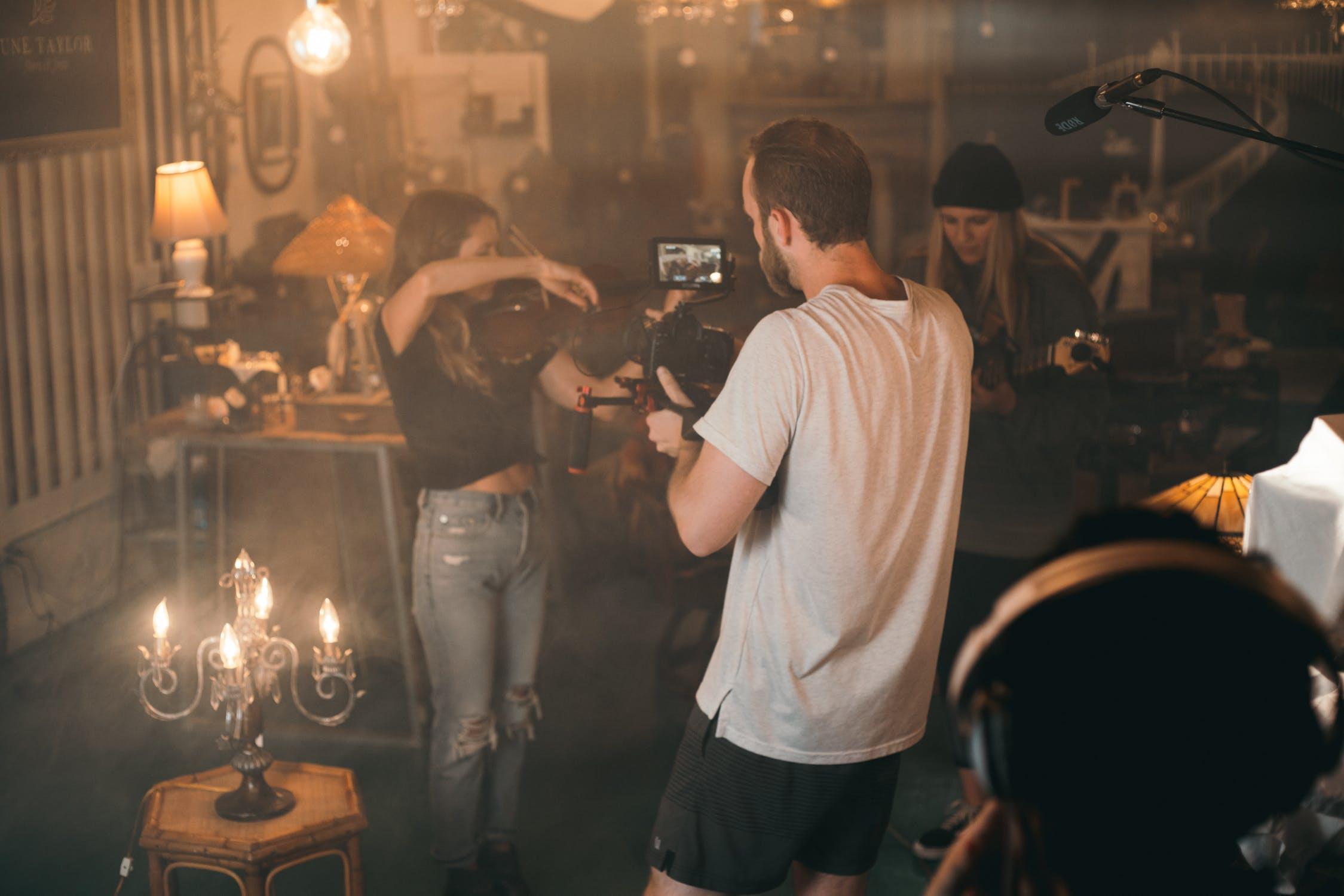 Music Video Shoot