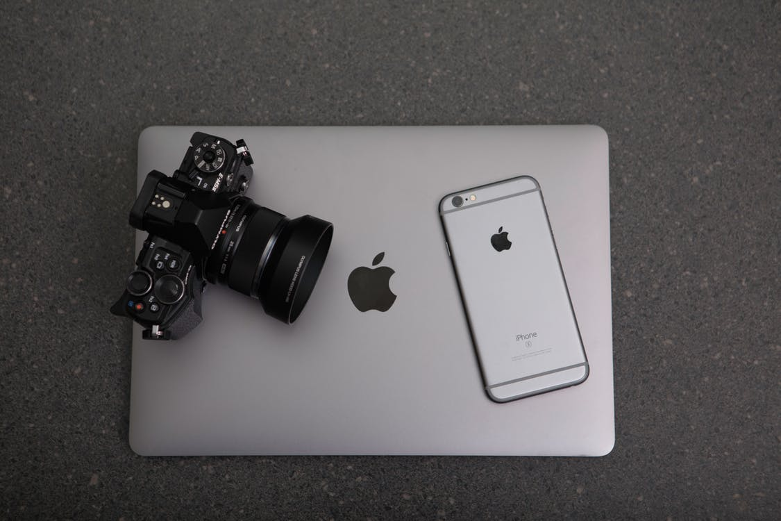 DLSR & iPhone