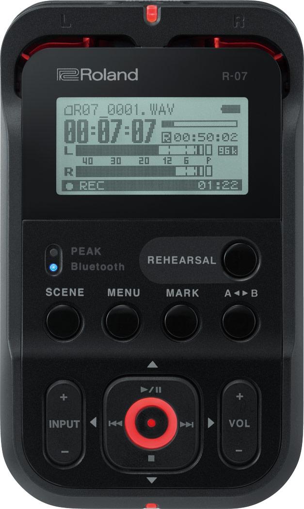 Roland R-07 Audio Recorder