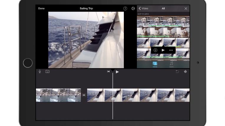 iMovie for iOS Video Editing