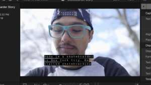 Captions FCPX